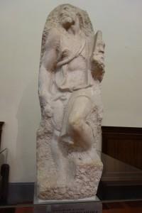 Michelangelo's prisoner