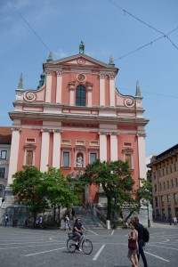 Franciscan church in Ljubljana