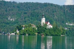 Ljubljana and Lake Bled, Slovenia