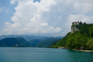 Castle overlooking Lake Bled